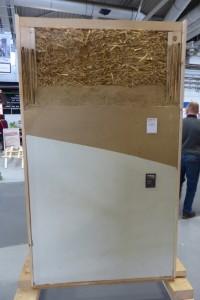 Lehm- Strohbau Musterwand