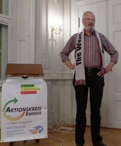 Klaus Milke beim Aktionskreis Energie