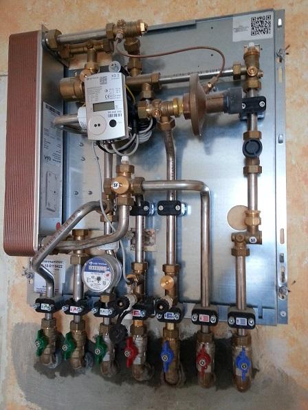Wirtschaftliche Trinkwassererwärmung, Gebäude-dezentral