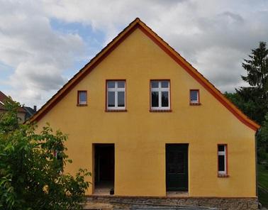 Lehm- und Holzbau im Museumsdorf Düppel