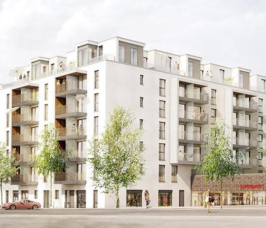 Quartier Bautzener Str. - DGNB- zertifiziert von Anfang an