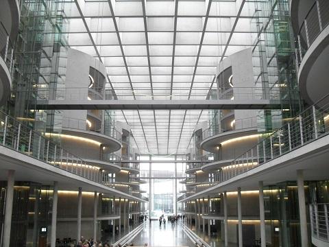 Besichtigung des Bundestages unter baufachlichen Gesichtspunkten