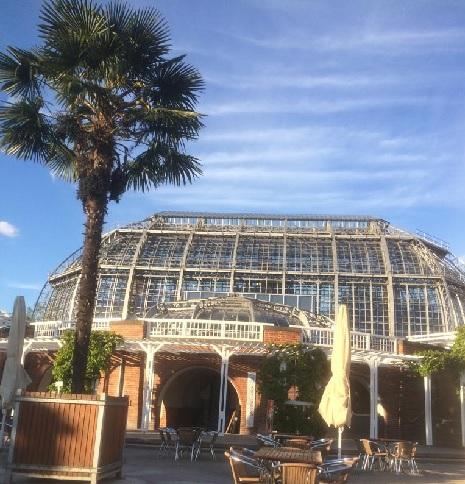Besichtigung des Kompostierungsprojektes und die Herstellung von Terra Preta im Botanischen Garten