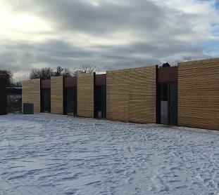 Holzhaus Modulbauweise holzhäuser in modulbauweise sparsam energieeffizient und