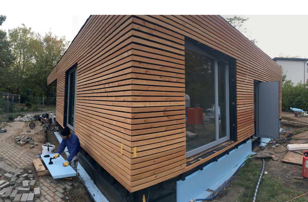 Holz im Gewerbebau - Neue Verkehrschule Steglitz